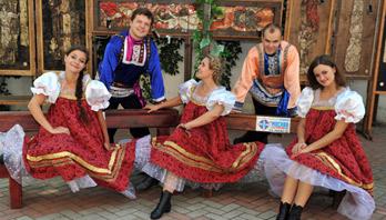 Танцевальный народный ансамбль